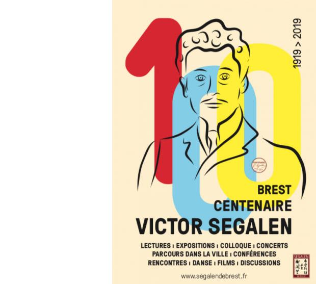 Affiche du centenaire de Victor Segalen