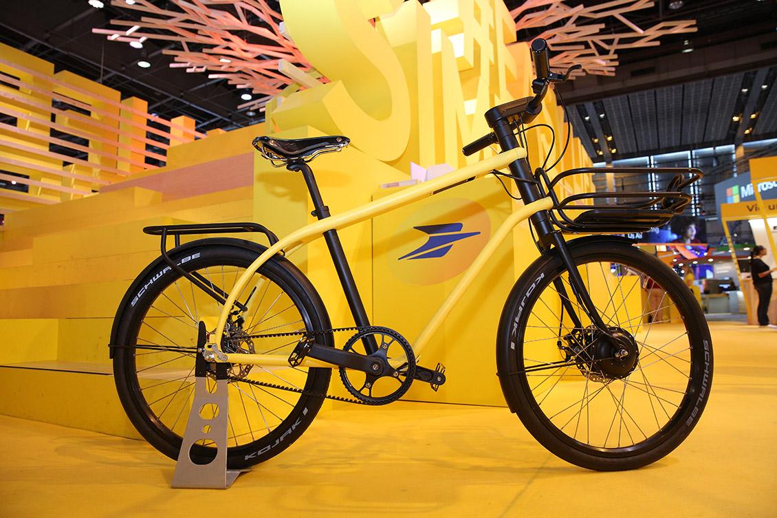 Le vélo électrique de La Poste au CES 2018