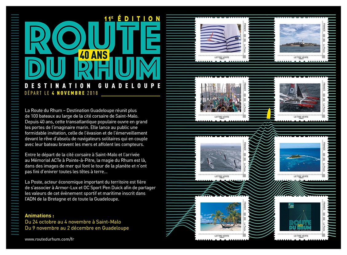 """Visuel du collector """"Route du Rhum 2018"""""""