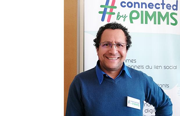 Photo de Rabah Taoutaou, directeur du réseau Pimms de l'agglomération stéphanoise