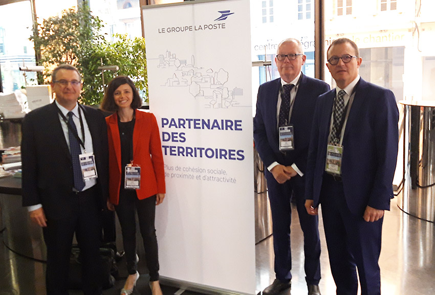 Photo des représentants du Groupe lors du congrès des villes de France 2019