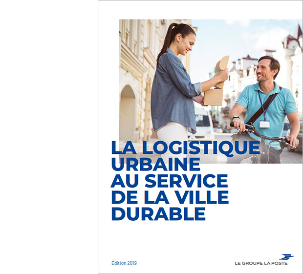 """Couverture du recueil """"La logistique urbaine au service de la ville durable"""""""