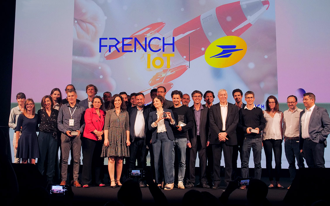 Photo of the men and women who founded the winning start-ups of the 2019 French IoT contest: a shared enthusiasm for innovation 3.0.
