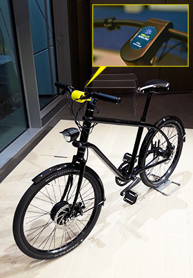 La Poste's Vélo at the CES 2018