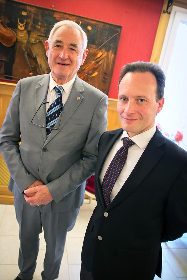 Photo de Gilbert Conan (Président de la CDPPT de Seine Maritime) et Ludovic Assier (Président de la CDPPT de l'Orne).