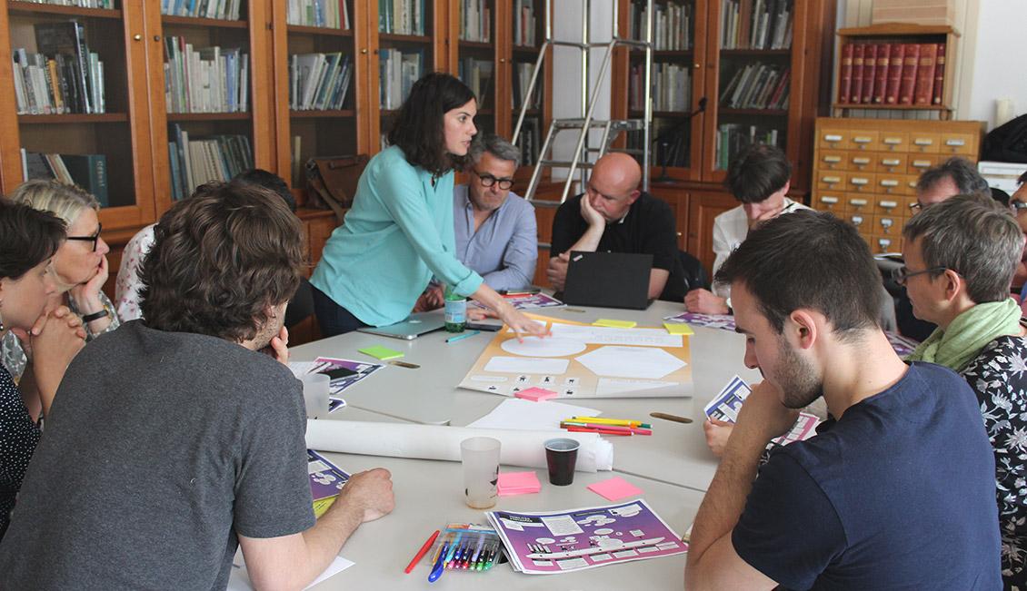 Photo de l'atelier de co-construction du scénario d'expérimentation du Self Data, le 16 mai dernier à La Rochelle.