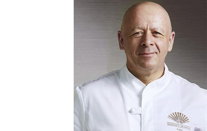 Photo de Thierry Marx, chef étoilé