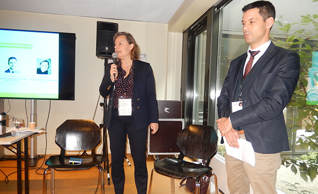 Bemobi representatives at the dd Forum in Alsace