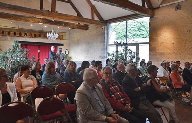 De nombreux élus et gérantes étaient présents à la réunion Tous Partenaires dans l'Orne.