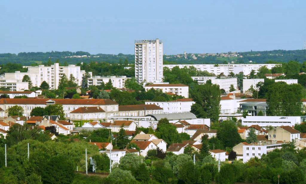 Photo du quartier de la Grande Garenne à Angoulême.