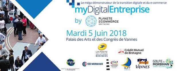 Salon myDigital Entreprise at the Palais des Arts and Congresses in Vannes