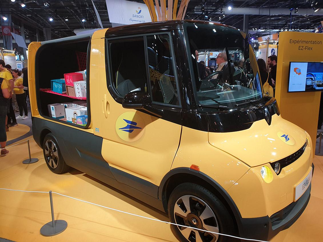 Photo of the Renault EZ-Flex at Vivatech 2019