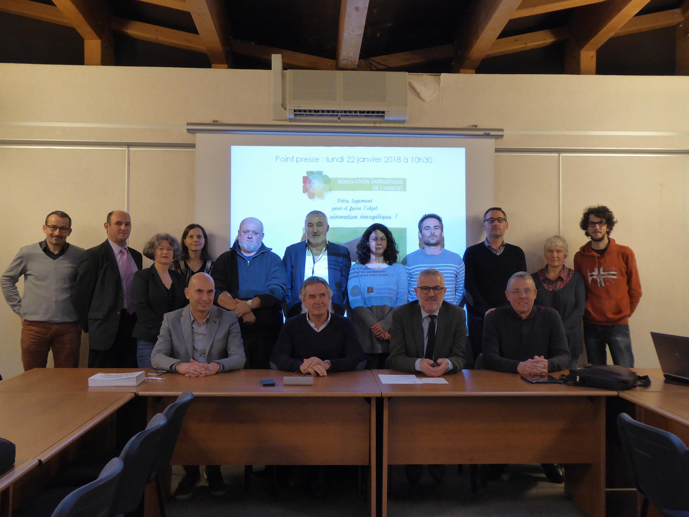 Les partenaires du dispositif « Objectif rénovation : l'accès à la rénovation pour tous ».